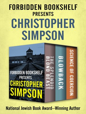 cover image of Forbidden Bookshelf Presents Christopher Simpson