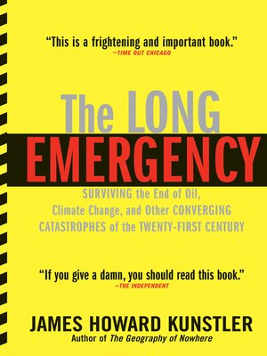 cover image of The Long Emergency