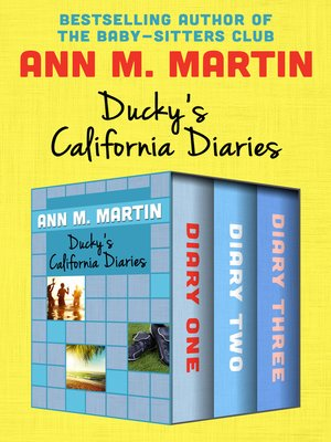 cover image of Ducky's California Diaries