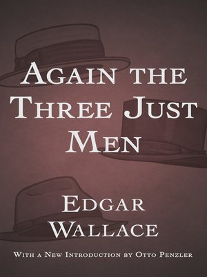 cover image of Again the Three Just Men