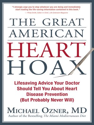 cover image of The Great American Heart Hoax
