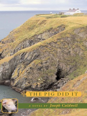 cover image of The Pig Did It
