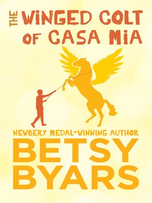 cover image of Winged Colt of Casa Mia