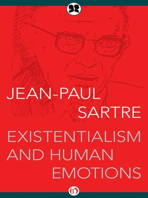 cover image of Existentialism and Human Emotions
