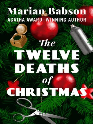 cover image of The Twelve Deaths of Christmas