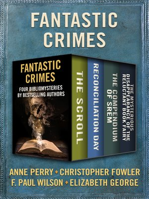 cover image of Fantastic Crimes
