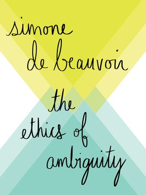 cover image of Ethics of Ambiguity