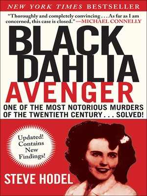 cover image of Black Dahlia Avenger