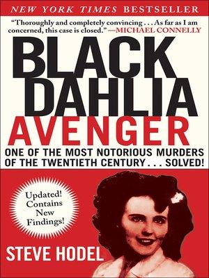 cover image of Black Dahlia Avenger