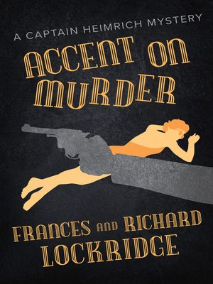 cover image of Accent on Murder