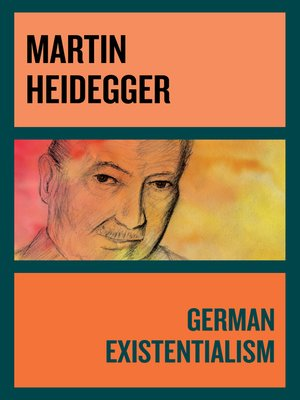 cover image of German Existentialism