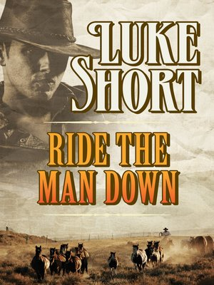 cover image of Ride the Man Down