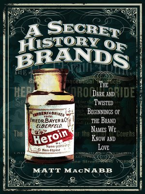 cover image of A Secret History of Brands