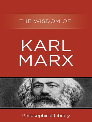 cover image of The Wisdom of Karl Marx