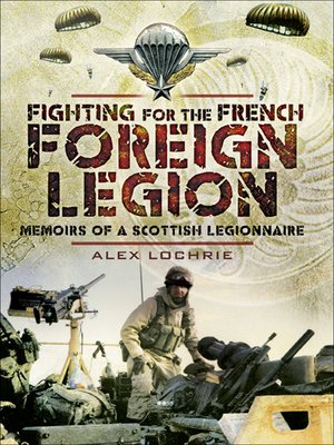 cover image of Fighting for the French Foreign Legion