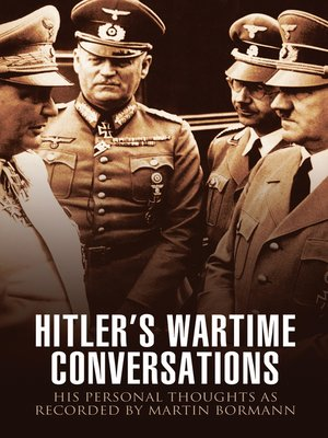 cover image of Hitler's Wartime Conversations
