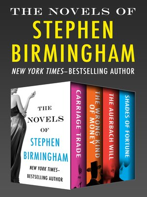 cover image of The Novels of Stephen Birmingham