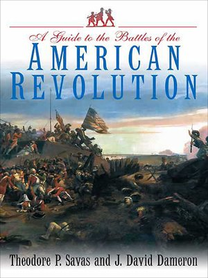 cover image of A Guide to the Battles of the American Revolution
