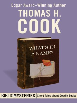 cover image of What's in a Name?