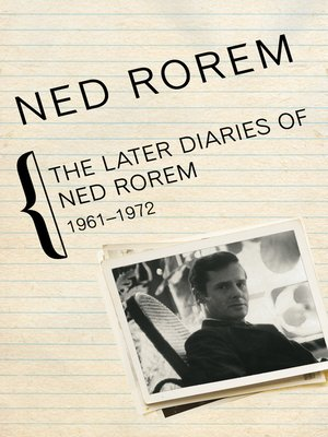 cover image of Later Diaries of Ned Rorem