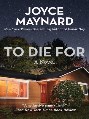 cover image of To Die For