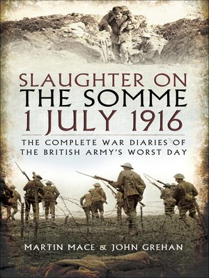 cover image of Slaughter on the Somme 1 July 1916