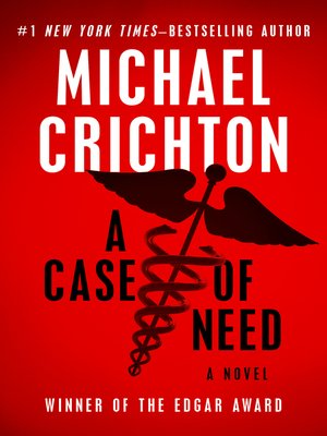cover image of Case of Need