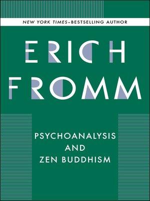 cover image of Psychoanalysis and Zen Buddhism