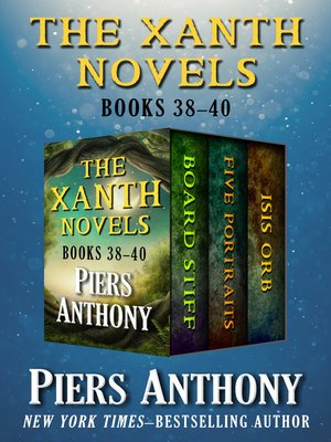 cover image of The Xanth Novels Books 38–40