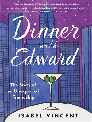 cover image of Dinner with Edward