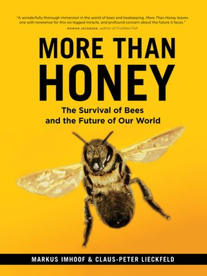 cover image of More Than Honey