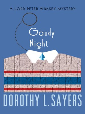 cover image of Gaudy Night