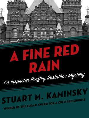 cover image of A Fine Red Rain
