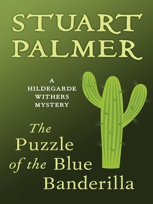 cover image of Puzzle of the Blue Banderilla
