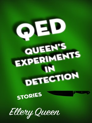 cover image of QED, Queen's Experiments in Detection