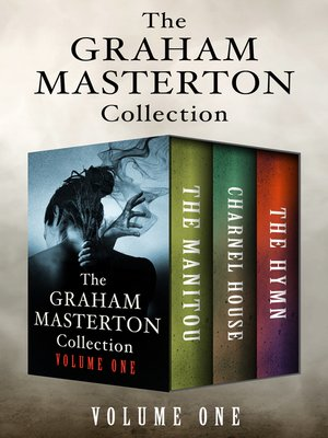 cover image of The Graham Masterton Collection Volume One