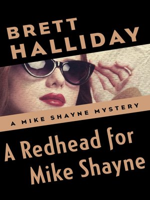 cover image of A Redhead for Mike Shayne