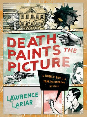 cover image of Death Paints the Picture