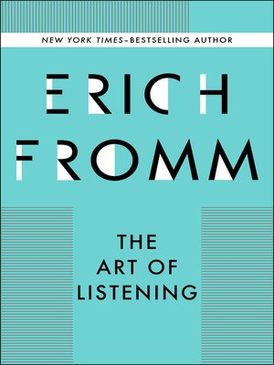 cover image of Art of Listening