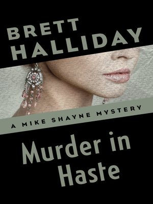 cover image of Murder in Haste