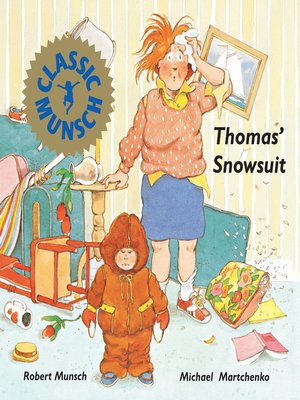 cover image of Thomas' Snowsuit