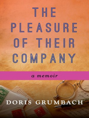 cover image of The Pleasure of Their Company