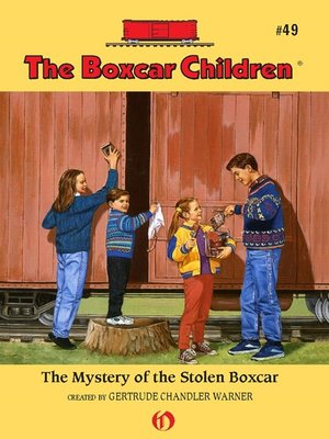 cover image of Mystery of the Stolen Boxcar