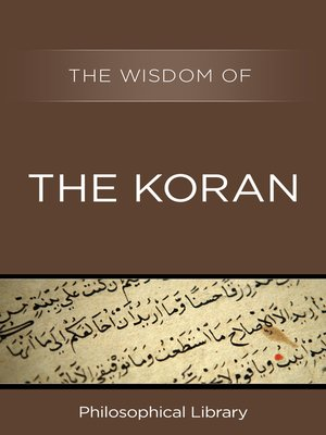 cover image of The Wisdom of the Koran