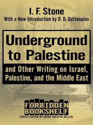 cover image of Underground to Palestine