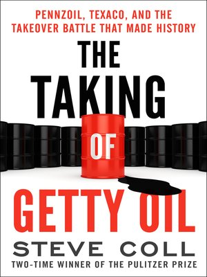 cover image of The Taking of Getty Oil
