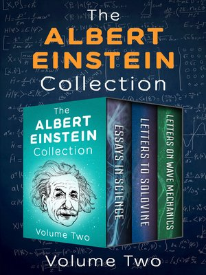 cover image of The Albert Einstein Collection Volume Two