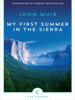 cover image of My First Summer in the Sierra