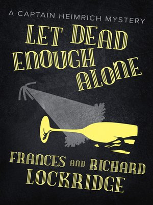 cover image of Let Dead Enough Alone