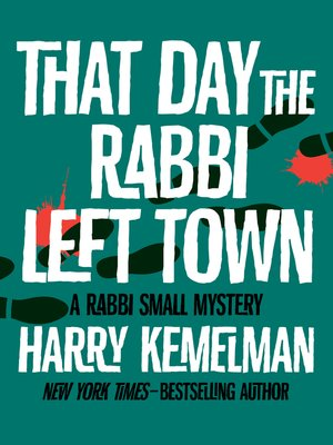 cover image of That Day the Rabbi Left Town